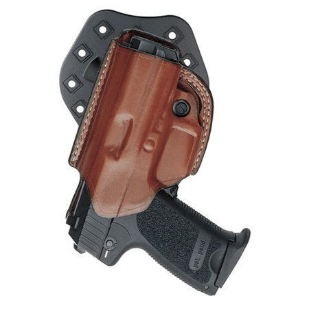 Aker Leather H268TPRU-GL1923 Flatside XR17 Paddle Holster Tan RH Fits Glock