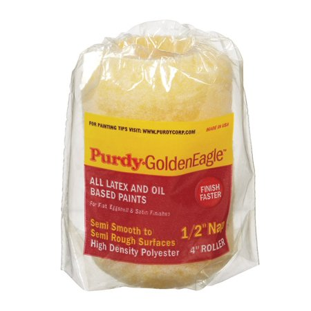 Purdy Golden Eagle Roller Cover Polyester Semi Smooth 1 2   Nap 4