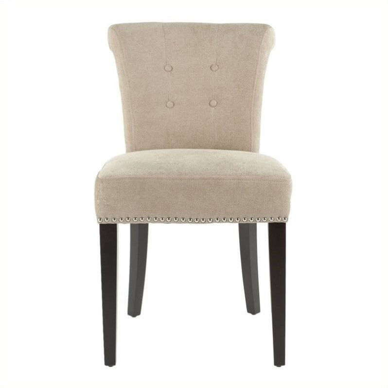 Safavieh Hunter Birch   Dining Chair in Beige (Set Of 2)