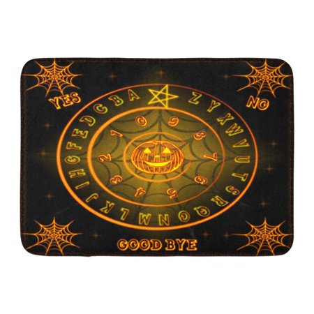 LADDKE Ghosts Ouija Talking Board Halloween Horrorbackground Ouijaboard Doormat Floor Rug Bath Mat 23.6x15.7 inch - 100 Floors Halloween Level 30