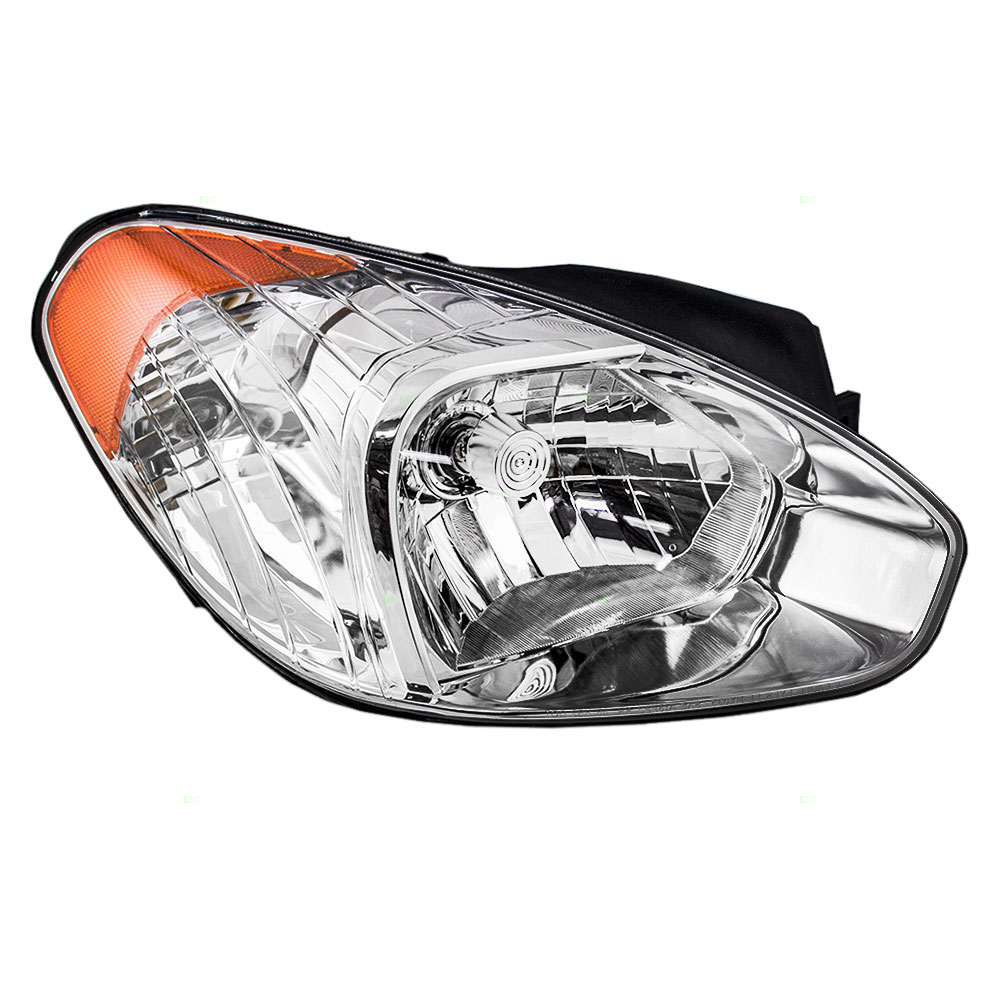 Passengers Headlight Headlamp Replacement for Hyundai 92102-1E010