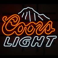 "Desung Brand New Coors Light Mountain Neon Sign Lamp Glass Beer Bar Pub Man Cave Sports Store Shop Wall Decor Neon Light 17""x 13"" WM36"