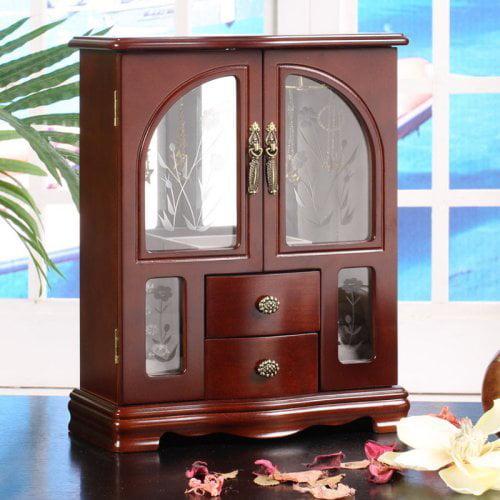 Minna 2-Door Jewelry Box - 10W x 12.75H in.