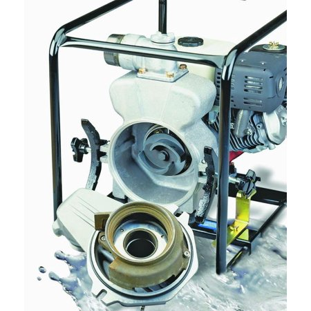 Tsurumi Ept3 Portable Trash Trash Pump  360 Gpm  8 Hp  3 In Mnpt Inlet X 3 In Outlet