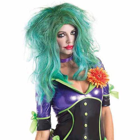 Funny Lady Villain Wig Halloween Accessory - Villains Halloween Party Mix
