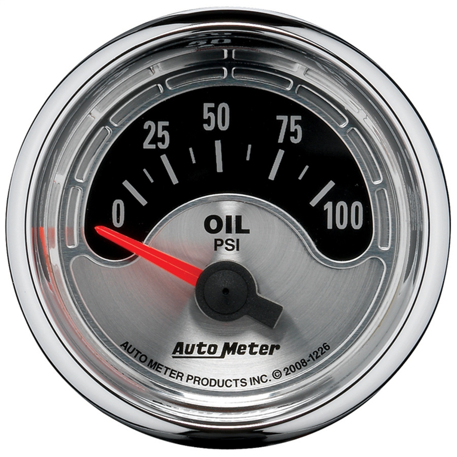 AutoMeter 1226 American Muscle (TM) Gauge Oil Pressure - image 2 of 2