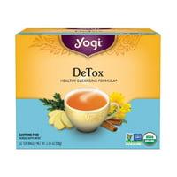 Yogi Tea, DeTox Tea, Tea Bags, 32 Ct