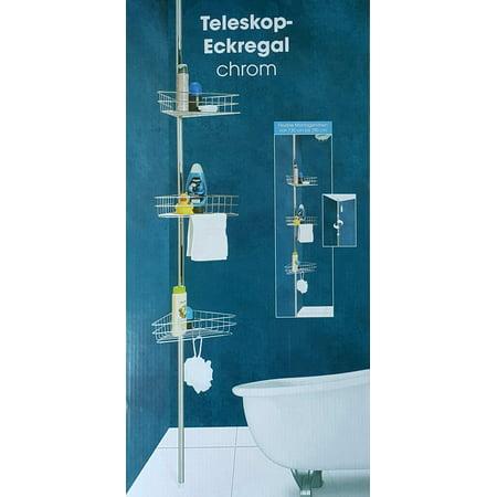 Aluminum Corner Insert (Bathroom Shelf quick to drain Durable Aluminum 4 tiers shower shelf Kitchen storage basket Corner Shelves )