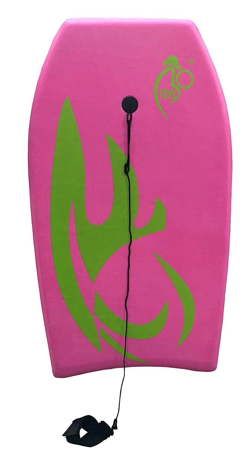 Bo-Toys Body Board Lightweight with EPS Core ( Pink, 33 inch ) by Bo-Toys
