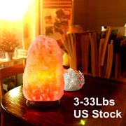 Himalayan Glow Hand Carved Salt Lamp Natural Crystal Air Purifying Himalayan Pink Salt Rock Lamp Touch Dimmer Switch, Soft Night Light For Living Dining Bed Room Office 1-2Kgs