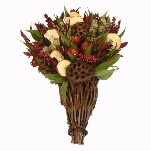 Urban Florals Red Delicious Apple Cornucopia Flower