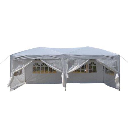 UBesGoo 10x20'EZ Pop Up Canopy Wedding Party Tent Outdoor ...