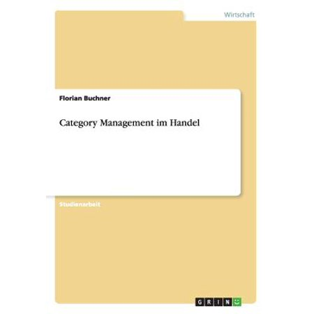 Category Management Im Handel Category Management Im Handel