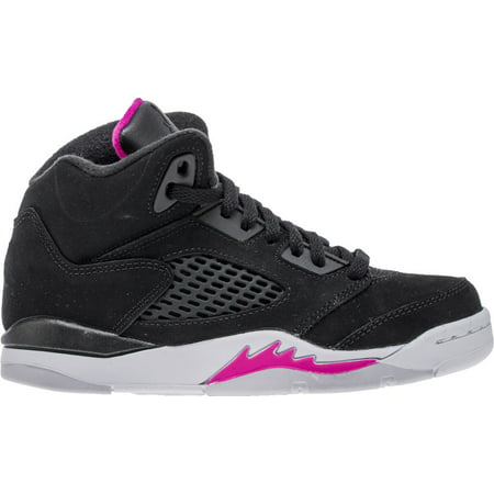 Nike Jordan Girl - Nike Little Kids Jordan 5 Retro Girls Basketball Shoes