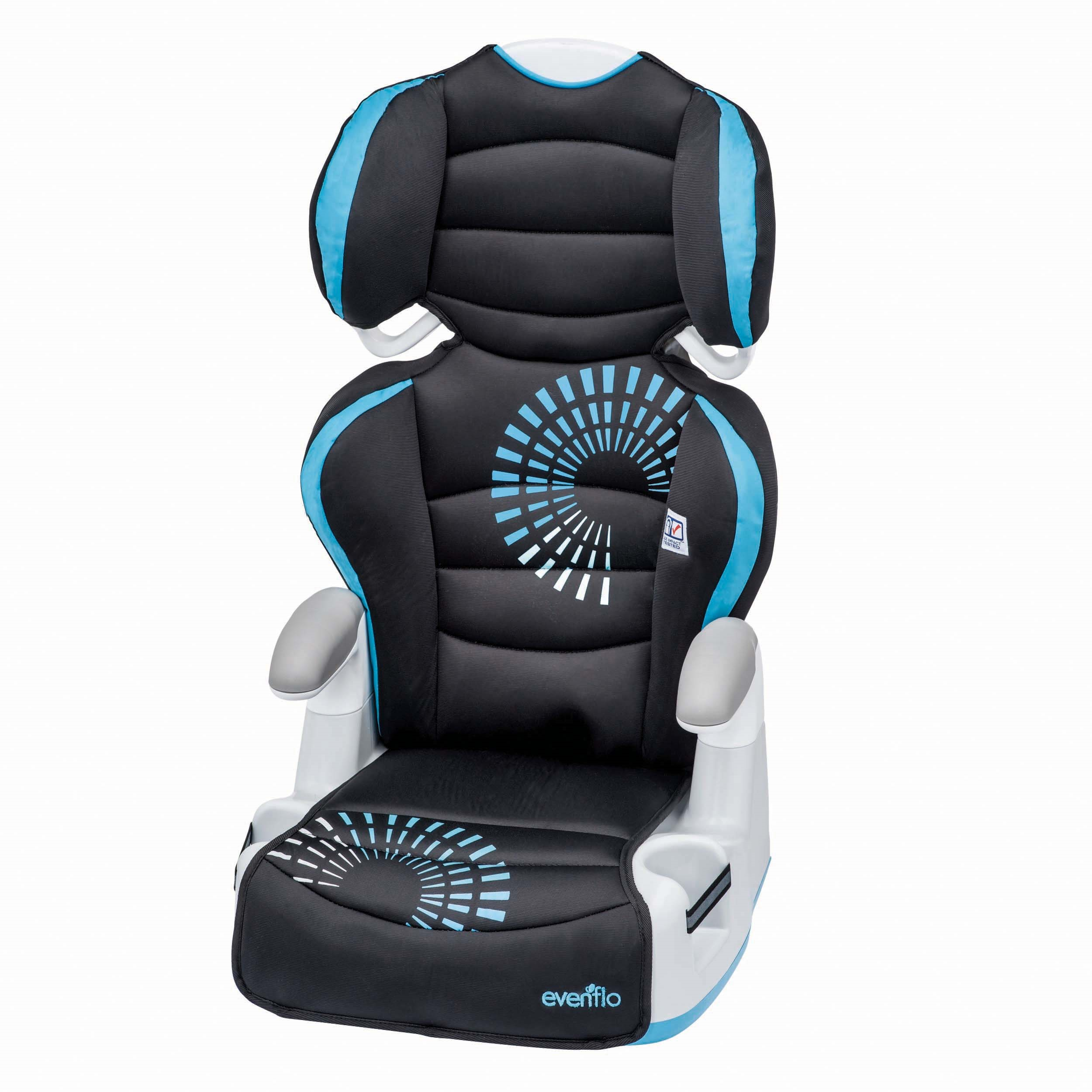 Evenflo Big Kid AMP High Back Booster Car Seat, Sprocket