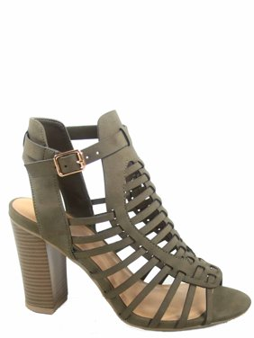 d7e49dbc037 Product Image Ibiza Women s Fahsion Chunky High Heel Strappy Ankle Strap  Open Toe Buckle Sandal Shoes