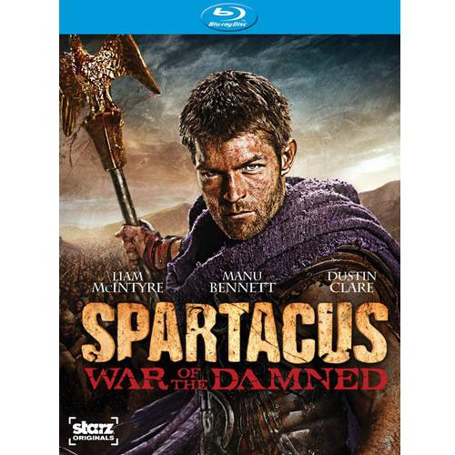 Spartacus: War Of The Damned - The Complete Third Season (Blu-ray)