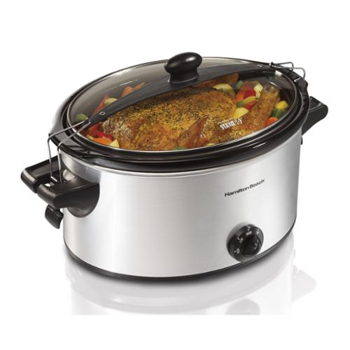 Hamilton Beach 33262A Stay or Go 6 Quart Slow Cooker