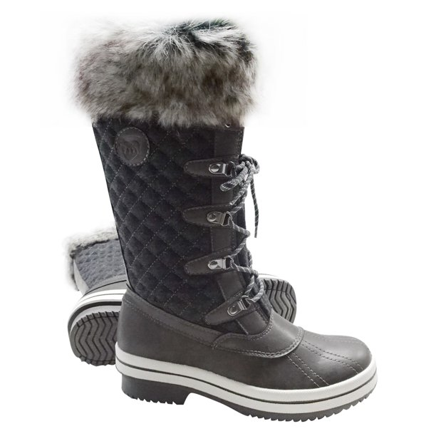 Warm Waterproof Snow Boots