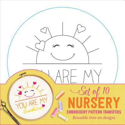 - Nursery Embroidery Pattern Transfers
