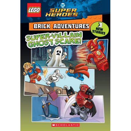 Super-Villain Ghost Scare! (Lego DC Comics Super Heroes: Brick - Villain Superhero