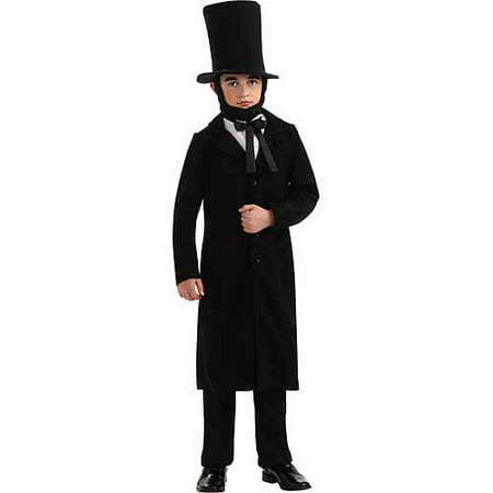 President Abraham Lincoln Child Halloween Costume - Halloween Parties In Lincoln Park Chicago