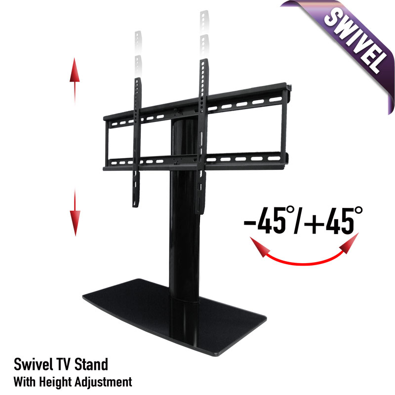 Merveilleux Universal Tabletop TV Stand With Swivel And Height Adjustable