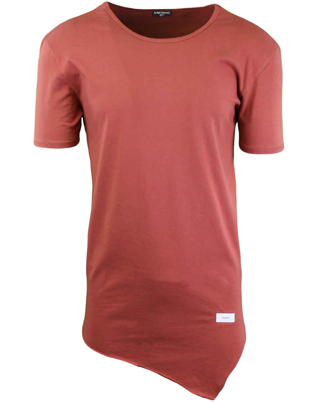58218ce25 ShirtBANC - ShirtBANC Mens Hipster Hip Hop Long Drop Tail T Shirts  (Asymmetric Tee Auburn, L) - Walmart.com