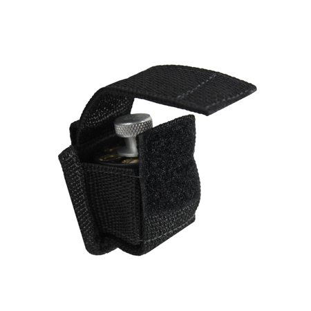 Barsony Revolver Single Belt Loop Speed Loader Pouch for 7 round .38 .367; 9 shot