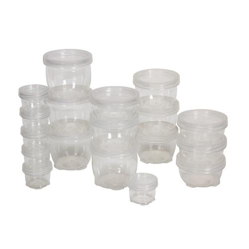Exceptional Household Essentials 18 Piece Lock Up Storage Container Set