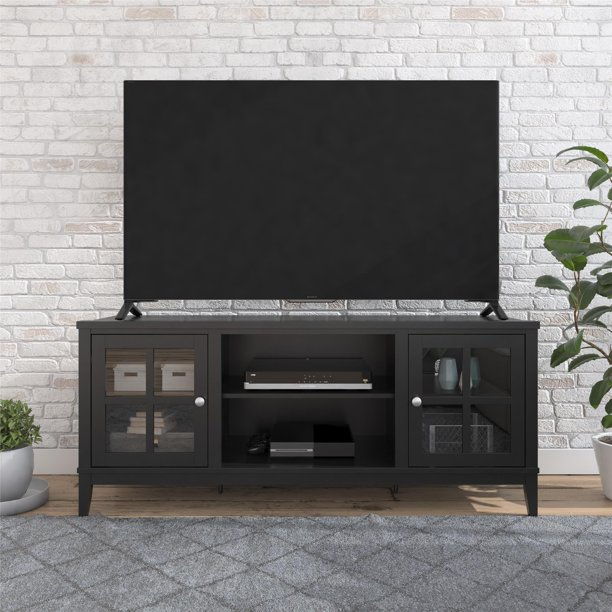 "Ameriwood Home Franklin TV Stand for TVs up to 65"", Black"