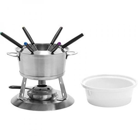 Home Presence 3 in 1 Stainless-Steel Fondue Set by Trudeau - 40