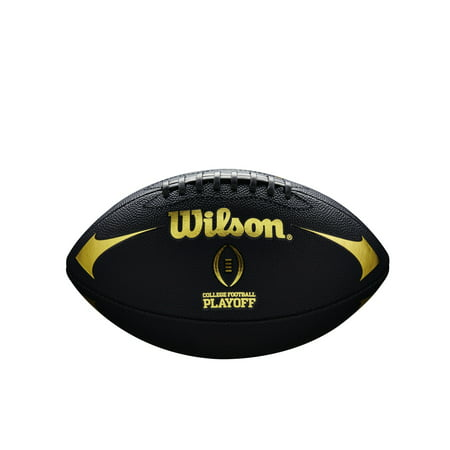 Wilson CFP Black Edition Jr Football