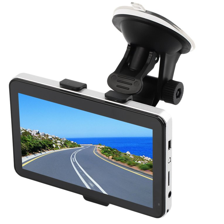 "5"" Inch Portable Truck Lorry GPS Navigation SAT NAV Maps Update 8GB"
