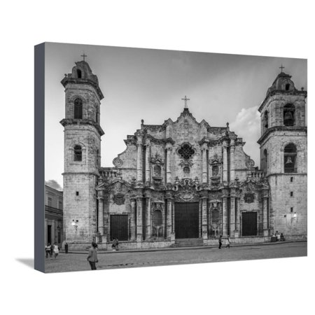 Cathedral, Virgin Mary, Immaculate Conception, Cuba Stretched Canvas Print Wall Art By James White