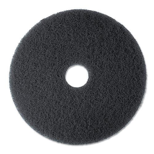 3M  MMM08271  Cleaning Tools  Janitorial Supplies  Floor Pads  ;Black