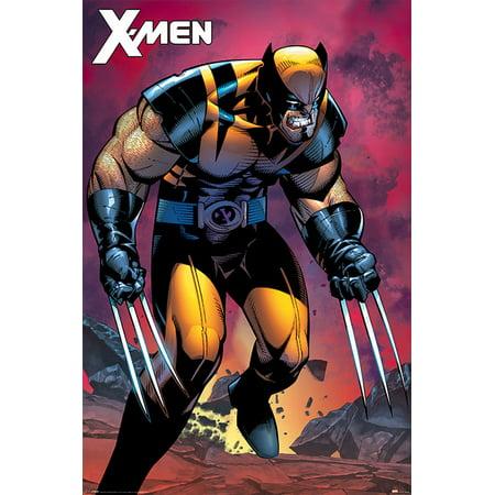 X-Men - Marvel Comic Poster / Print (Wolverine Berserker) (Size: 24