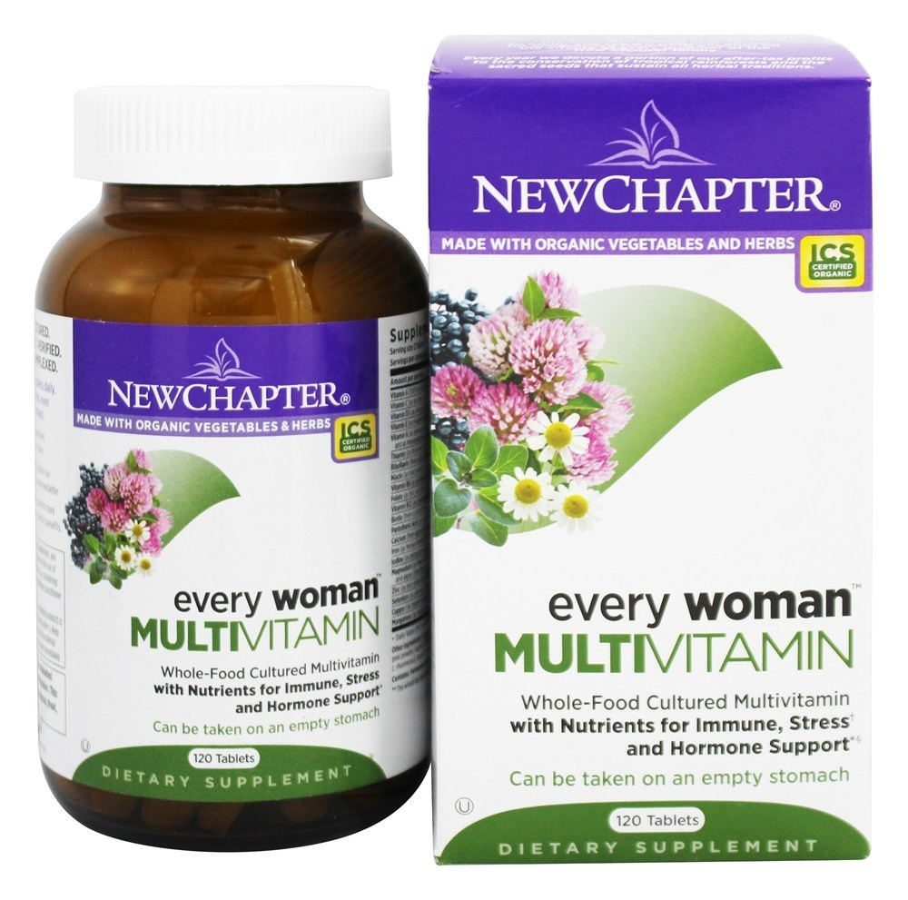 New Chapter - Every Woman - 120 Tablets