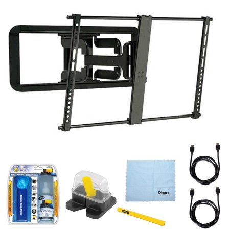Sanus Super Slim Full Motion Wall Mount For 37 Quot 84 Quot Tvs