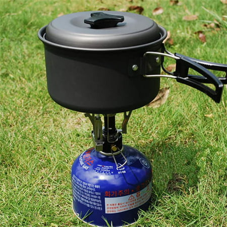 Portable Outdoor Picnic Butane Gas Burner Camping Cookware Cookout Stove