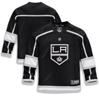 Los Angeles Kings Fanatics Branded Youth Home Replica Blank Jersey - Black