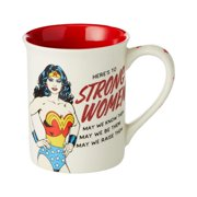 Our Name Is Mud Wonder Woman Strong Woman 16 oz Mug #6003581