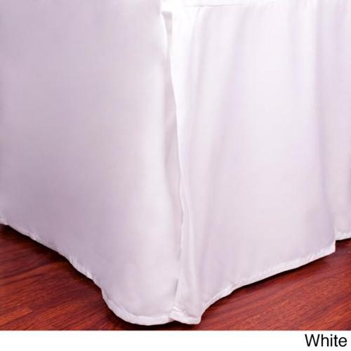1500 Series Ultra-soft Assorted Color Bed Skirts KING, BURGUNDY