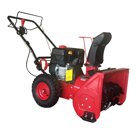 PowerSmart DB7622H 22 in. 2-Stage Manual Start Gas Snow Blower (Snow Blower Gas Powered)
