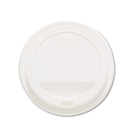 Solo Cup Company Traveler White Drink Thru Lids  1000 Count