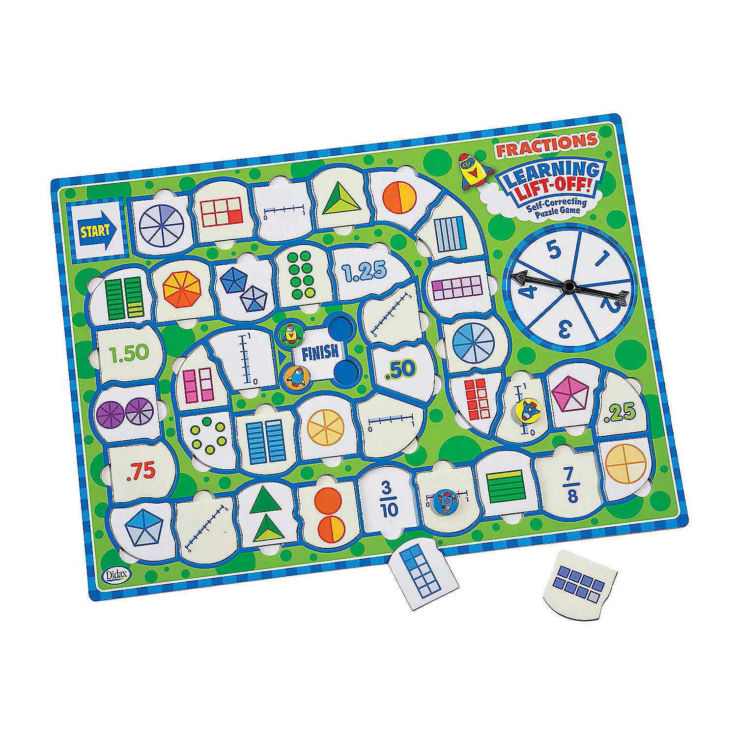 IN-13866972 Learning Lift Off - Fractions Game By Fun Express