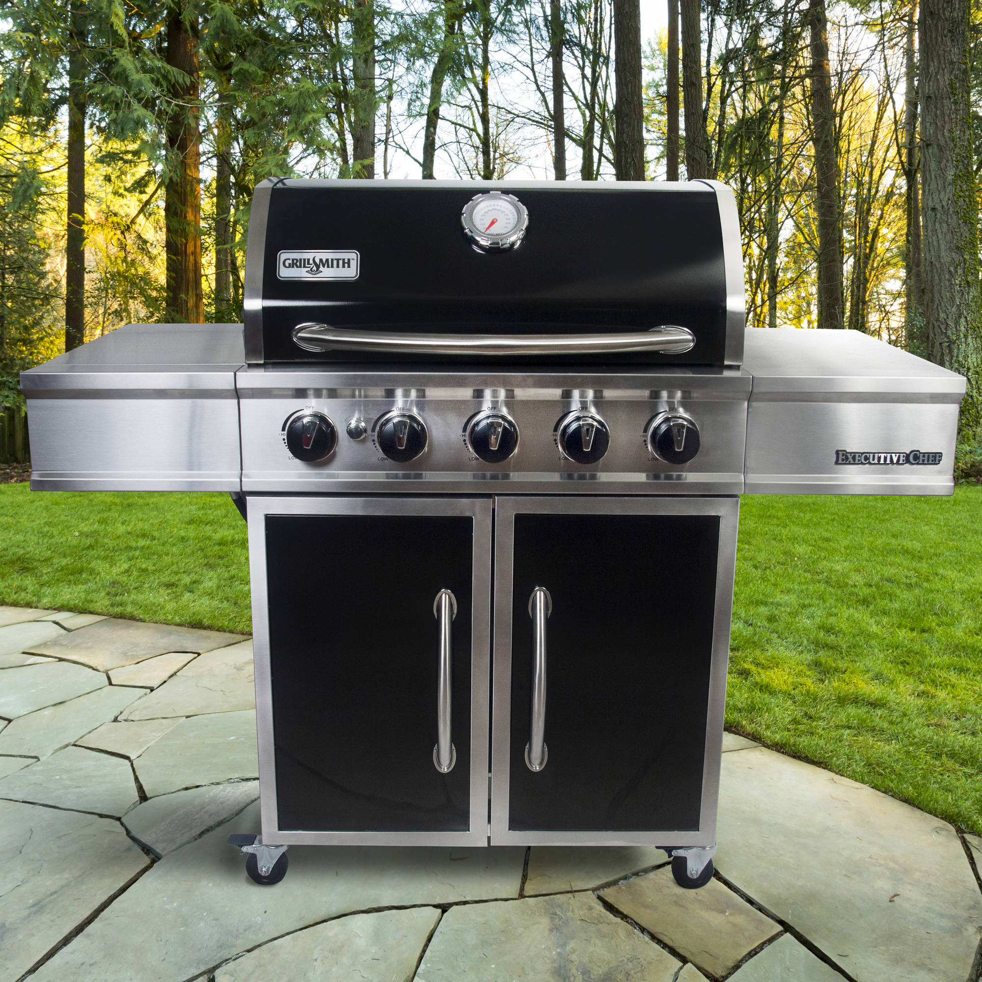 GrillSmith Executive Series 5-Burner Premium Gas Grill