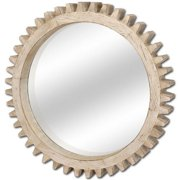 Mercana Industrial, Industrial Mirror With Natural Finish 37140