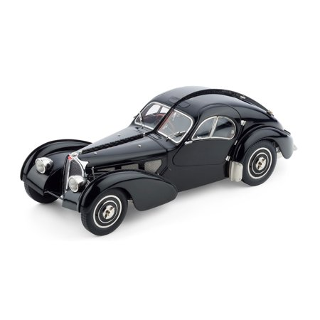 Coupe Chassis - Bugatti Type 57 SC Atlantic Coupe Black Chassis #57.591 1/18 Diecast Model Car by CMC