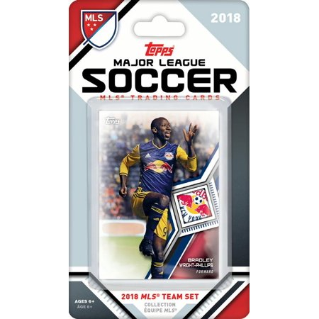 New York Red Bulls 2018 Topps MLS Soccer Factory Sealed 78 Card Team Set with Bradley Wright Phillips and Luis Robles (Factory Sealed Set)